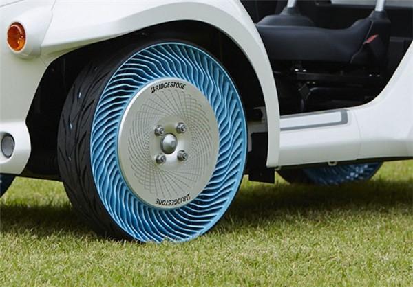 تایر های بدون نیاز به هوا