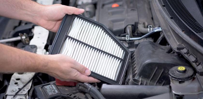 فیلتر هوا در خودرو و دلیلی برای گاز نخوردن